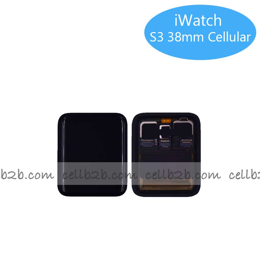 Pantalla Completa Original Apple iWatch Series 3 38MM Negra GPS+Cellular