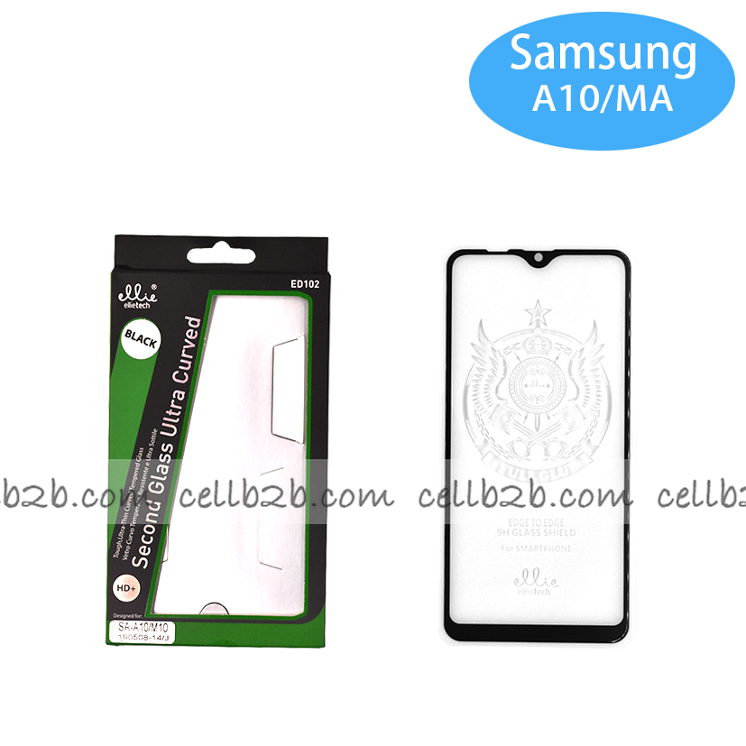 Protector para Samsung A10/ M10 Completo Full Glue Negro