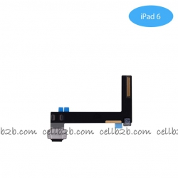Cable Flex de Carga para iPad 6 Negro | iPad 6/iPad Air 2