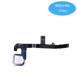 Cable Flex de Home Boton para Motorola X Play Blanco | Moto x play