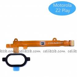 Cable Flex de Home Boton para Motorola Z2 Play Blanco | Z2 Play