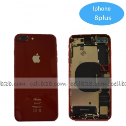 Carcasa Chasis Tapa Con Recambio iPhone 8 Plus Rojo | iPhone 8 Plus