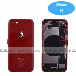 Carcasa Chasis Tapa Con Recambio iPhone 8G Rojo | iPhone 8