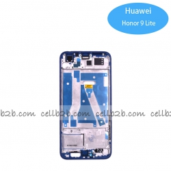 Carcasa Frontal/ intermedia para Huawei Honor 9/ Honor 9 Lite Azul Original | Huawei Honor 9