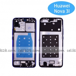 Carcasa intermedia para Huawei P Smart Plus Nova 3i Azul Original | P SMART PLUS