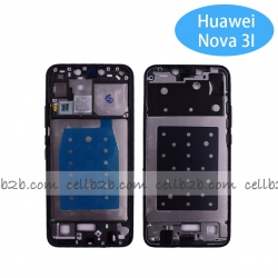 Carcasa intermedia para Huawei P Smart Plus Nova 3i Negro Original | P SMART PLUS