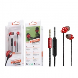 Ellietech AT216 Auriculares IN-EAR MIC+VOL con Cable Jack 3.5mm NOVEDAD | Auriculares