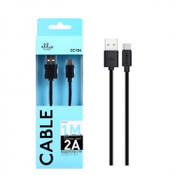 Ellietech CC104 Cable de Carga Type-C 2A 1M | Cable del móvil