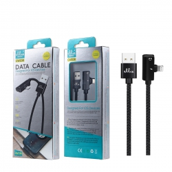 Ellietech CW208 Cable de Dato Lightning Recarga + Adaptador Audio para iOS Dispositivo 1.0M NOVEDAD | Cable del móvil