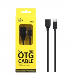 Ellietech OT101 Cable OTG-Micro USB 2A  0.2M | Cable del móvil