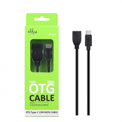 Ellietech OT102 Cable OTG-Type-C USB 2A  0.2M | Cable del móvil
