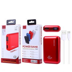 Ellietech PB107 Bateria Externa 10000mAh Portatil con Pantalla Digital NOVEDAD | Power Bank