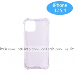 Funda Antigolpe para iphone 12 5.4 2020 Silicona Transparente PC+PTU NOVEDAD | Funda Antigolpe PC+TPU