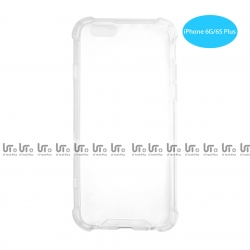 Funda Antigolpe para iphone 6G 6S Silicona Transparente PC+PTU | Funda Antigolpe PC+TPU