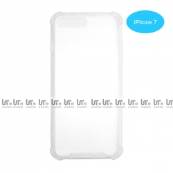 Funda Antigolpe para iphone 7 Silicona Transparente PC+PTU | Funda Antigolpe PC+TPU
