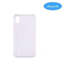 Funda Antigolpe para iphone XR Silicona Transparente PC+PTU NOVEDAD | Funda Antigolpe PC+TPU