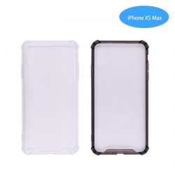 Funda Antigolpe para iphone XS Max Silicona Transparente PC+PTU NOVEDAD | Funda Antigolpe PC+TPU