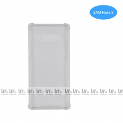 Funda Antigolpe para Samsung Note 8 Silicona Transparente PC+PTU | Funda Antigolpe PC+TPU