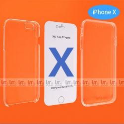 Funda para iPhone X 360 Grados de Protección Doble Cara PC+TPU | Funda Doble Cara