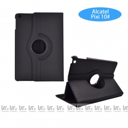 Funda para Tableta Alcatel Pixi 3 10.0 Giratoria 360 Grados de Cuero PU | Funda Tableta para Alcatel