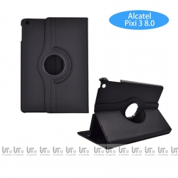 Funda para Tableta Alcatel Pixi 3 8# Giratoria 360 Grados de Cuero PU | Funda Tableta para Alcatel