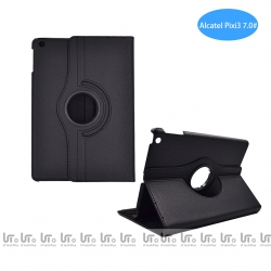 Funda para Tableta Alcatel Pixi3 7.0 Giratoria 360 Grados de Cuero PU | Funda Tableta para Alcatel