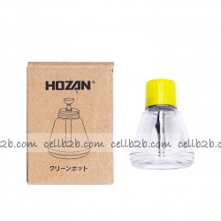 HOZAN Botella Cristal de Alcohol 150ml | Botella de alcohol