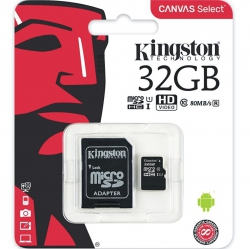 Kingston 32GB Tarjeta Memoria Original | SD CARD/PENDRIVE