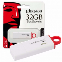Kingston Pendrieve 32GB Memoria USB Date Traveler | SD CARD/PENDRIVE