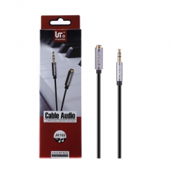 LT Tech Plus JK102 Cable de Audio 3.5mm M/F del Metal | Cable del móvil