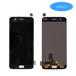 Pantalla One Plus 5 Negro Completa LCD+Táctil | One Plus