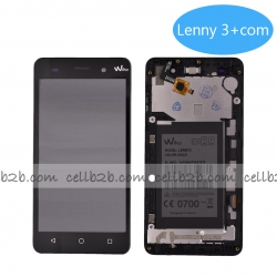 Pantalla Wiko Lenny 3 Negra Con Marco Completa Tactil+LCD | Lenny 3/Jerry