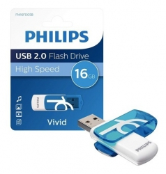 PHILIPS USB 2.0 Flash Drive 16GB up to 120MB/s Pack de 2 | SD CARD/PENDRIVE