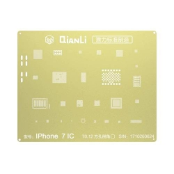 Plantilla Metalica de Chip IC QianLi 2D oro para Apple iPhone 7G 4.7 iPhone 7 Plus 5.5 | Otros