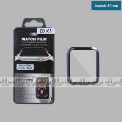 Protector Cristal Completo Full Glue 3D para iWatch 40mm NOVEDAD | Protectore para iWatch