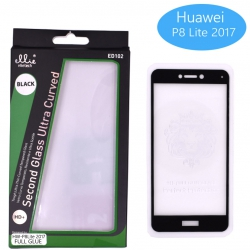 Protector Cristal para Huawei P8 Lite 2017/P9 Lite 2017 Completo Full Glue | Protectores 3D