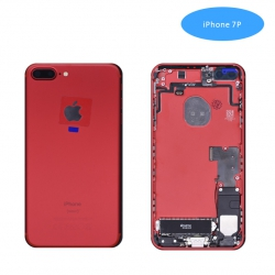 Tapa Trasera Con Recambio iPhone 7Plus Roja | Iphone 7Plus