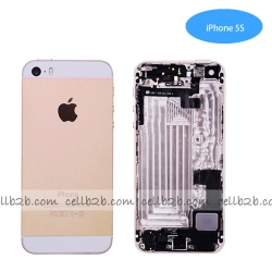 Tapa Trasera Con Recambio iPhone5S Oro | IPHONE 5S