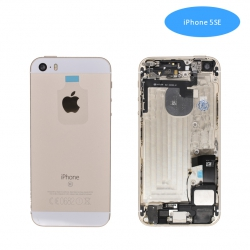 Tapa Trasera Con Recambio iPhone5SE Oro | IPHONE 5 SE