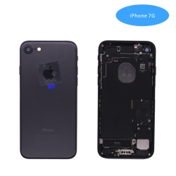 Tapa Trasera Con Recambio iPhone7G Negro brillante | Iphone 7