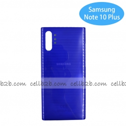 Tapa Trasera Samsung SM-N975 GALAXY Note 10 Plus Azul Material Original | Note 10 Plus