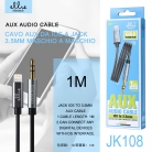 Ellietech JK108 Cable AUX iPhone iOS a Jack NOVEDAD